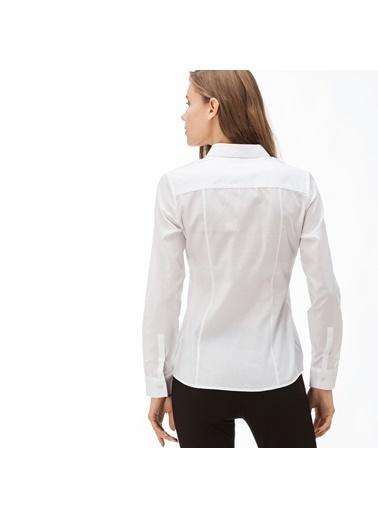 Lacoste Kadın  Gömlek CF2005.05A Beyaz
